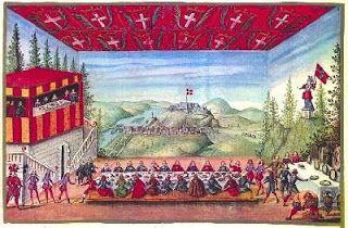 Il balletto del Dono del Re delle Alpi, per Madama Reale