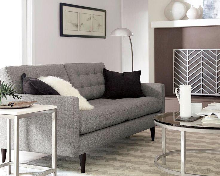 era round coffee table set petrie sofa miles polished nickel arc lamp era limestone side table - Sofa Side Table