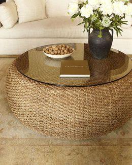 H5rfm Ralph Lauren Home Driftwood Coffee Table
