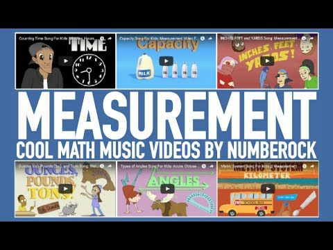 Measurement Songs For Kids | Fun Math Videos For Elementary - YouTube