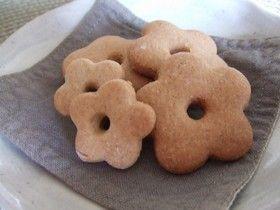そば粉で和菓子② *そばクッキー*