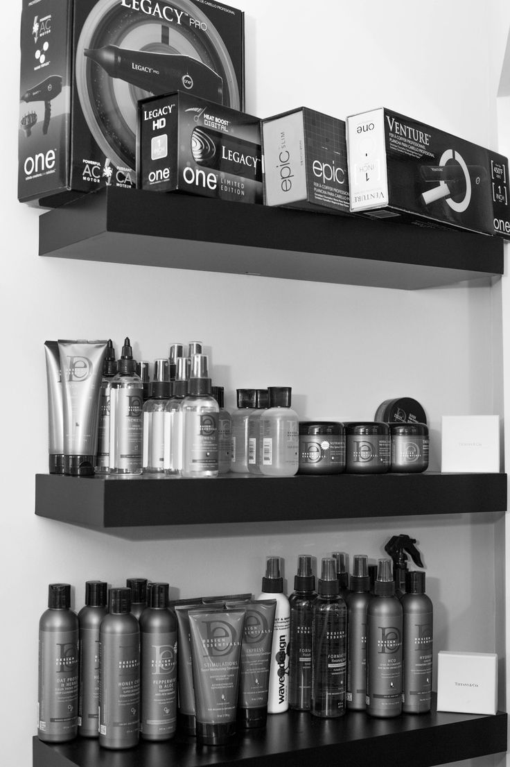 Floating Shelves Salon Retail Shelving In 2019 Retail