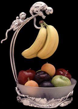 Arthur Court Designs Monkey Banana Holder Bowl!