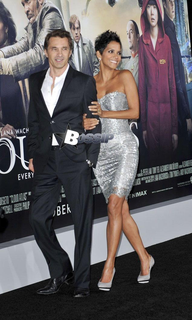 Halle Berry and Olivier Martinez 2013