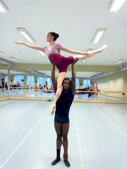 Principal dancer Hayley Blackburn wearing Tatevik Dancewear