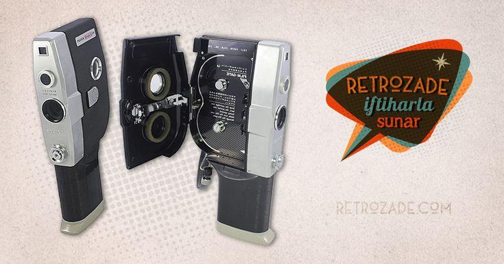 Fujica Single8 P1 8mm Film Kamerası