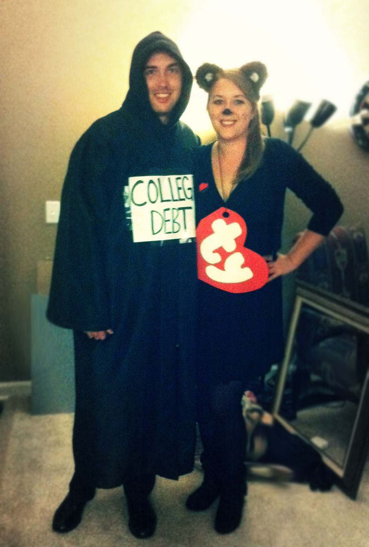 college debt and beanie baby halloween costumes cause theres nothing scarier than student loans - Halloween Costume Ideas College Students