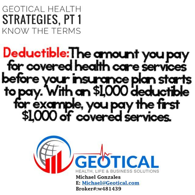 If You Re Generally Healthy Have Never Met Your Deductible But