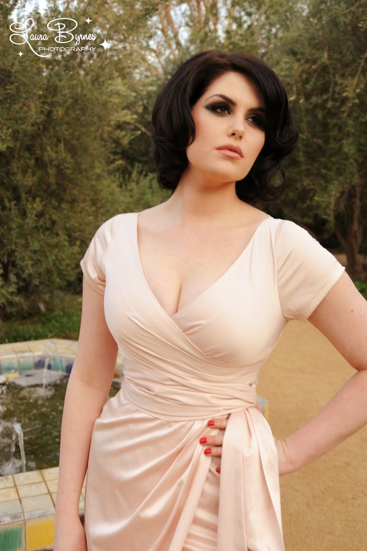 Pinup Couture Ava Dress in Blush