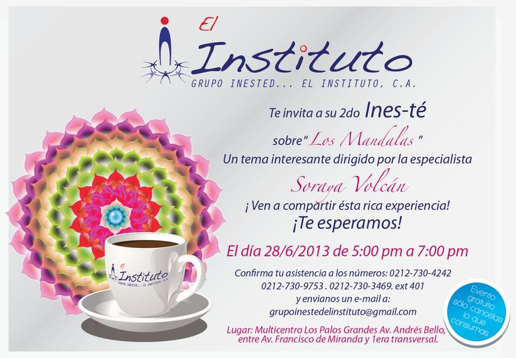 Invitacion on line / El Instituto