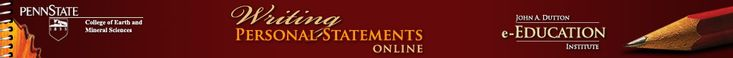Writing Personal Statements Online || Samples