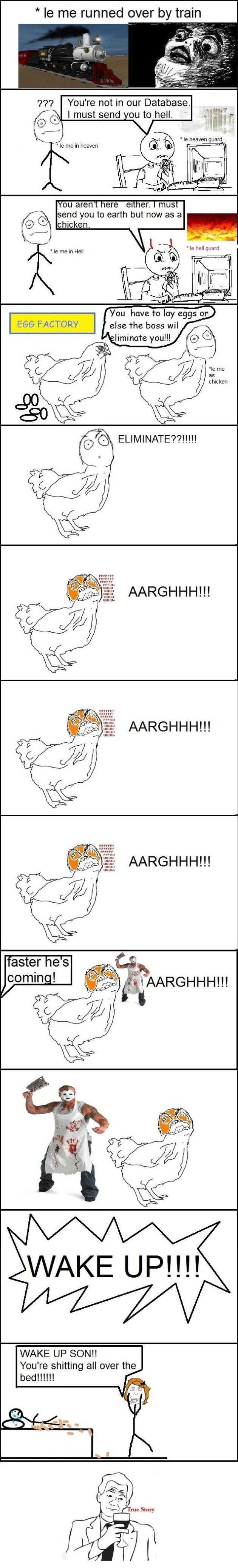 Rage Comics - The Dream - MEME, Funny Pictures and LOL