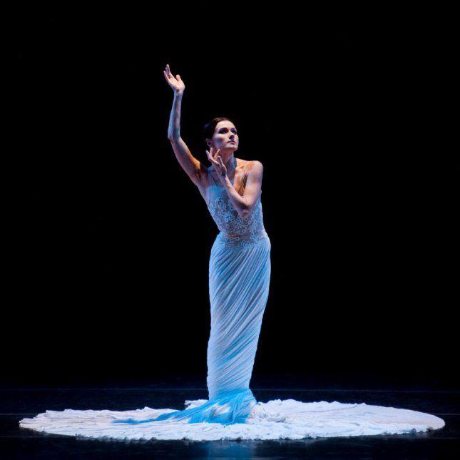 "tutusandcake: "" yoiness: ""  © Liza Voll Irina Dvorovenko and Maxim Beloserkovsky, ""Splendid Isolation"" (American Ballet Theatre) at YAGP's ""Ballet Grand Prix"" Tour, New Bedford, MA. "" NEW BEDFORD,..."