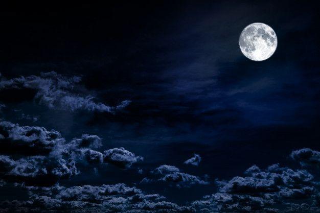 Background Night Sky With Stars Moon An Premium Photo Freepik Photo Background Halloween Light Cloud Night Sky Moon Night Skies Night Clouds