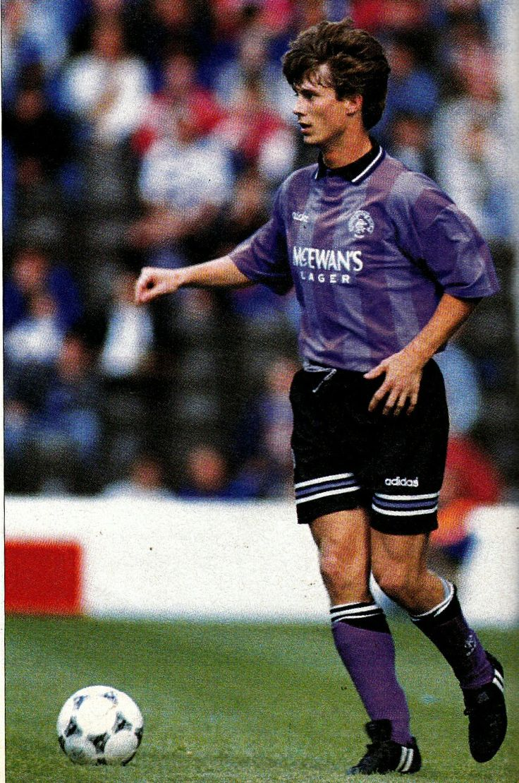 Brian Laudrup of Rangers in 1998.