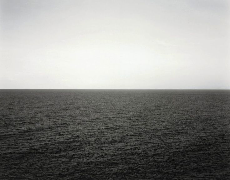 Hiroshi Sugimoto - Indian Ocean (Bali, Republic of Indonesia, 1991).