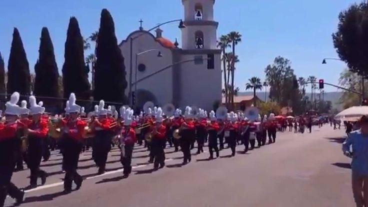 Redwood Middle School Band at San Juan Capistrano 2015