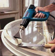 Decapador por aire caliente de Bosch Profesional - Decapador por aire caliente de Bosch Profesional. Foto © www.bosch-professional.com/es/
