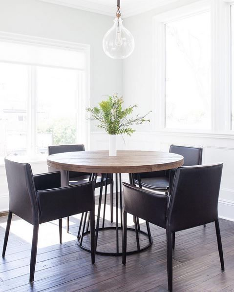 Keep Your Dining Room Light And Bright And It Will Always Shine.  #LivingSpaces #