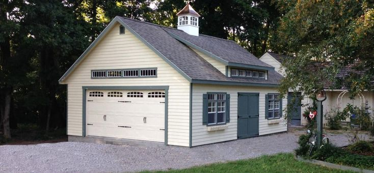 Buy Amish Storage Sheds and Prefab Garages | Add Space for Life
