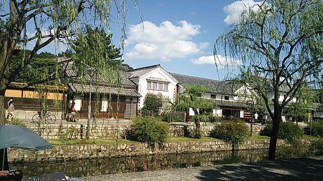 Old Buildings of Kurashiki Bikan Chiku