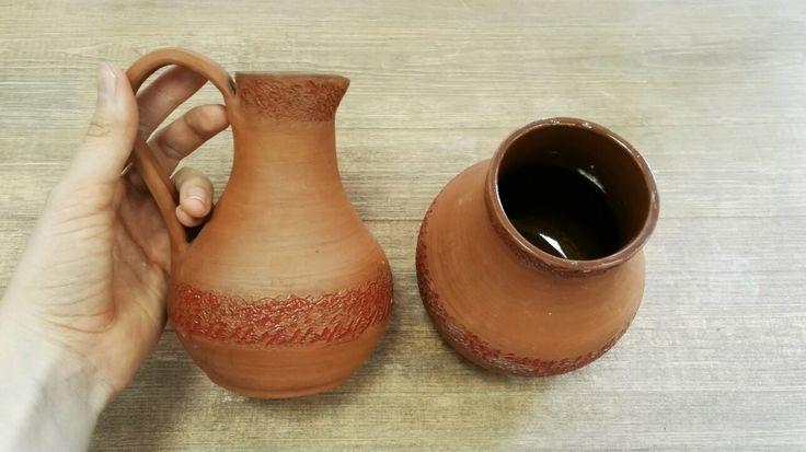 Керамические кувшины  в русском стиле