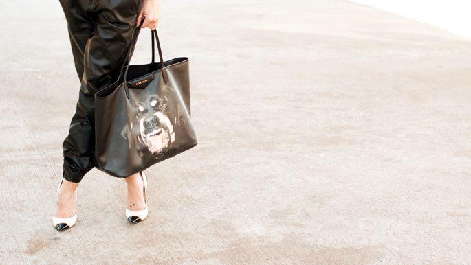 What Katie wore: I see right through you | Givenchy Antigona Tote Rotw