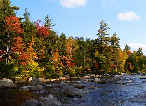 kancamagus scenic byway white mountains new hampshire