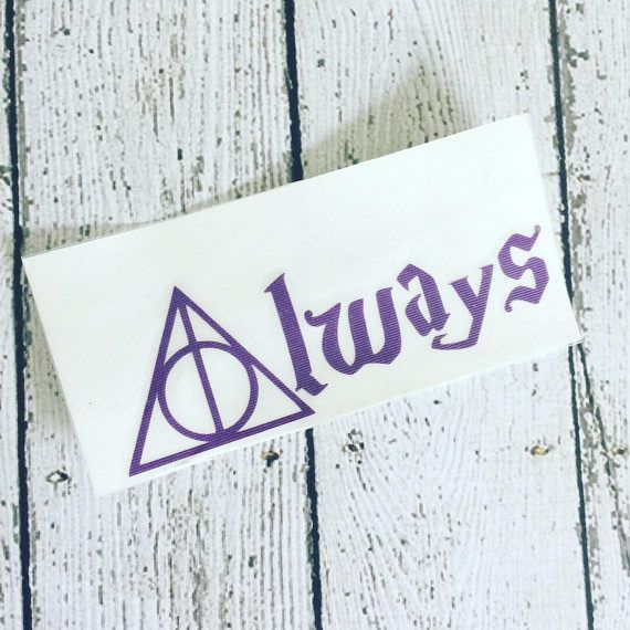 iPhone Decal iPad Decal MacBook Decal Harry Potter Always