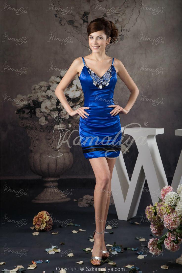 Blue summer wedding dresses