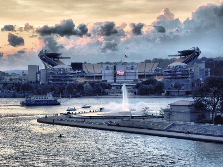 The Point... Heinz Field in background. Frank Zouloufos