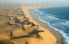 Die Namib Wüste