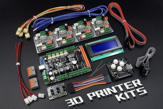 3d free | 3D Printer Electronics Kit (Free Shipping by DHL)