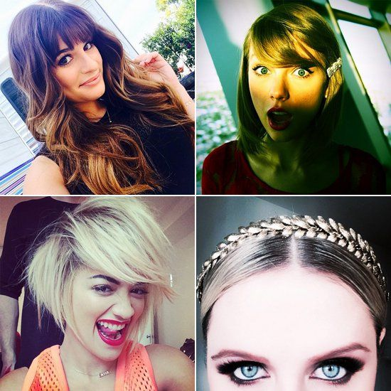 Pin for Later: New Hair, New Flair — Stars Offer Fresh Inspiration on Instagram