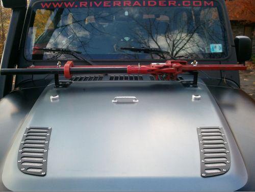 River Raider Hi Lift Hood Mounts