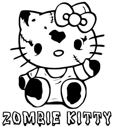 17 Best images about Hello Kitty Zombie on Pinterest ...