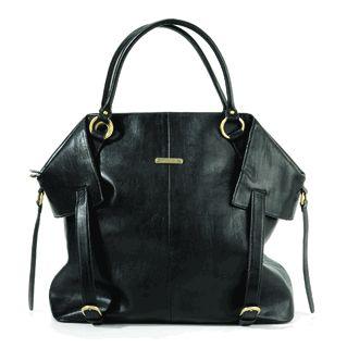 timi & leslie Charlie II Diaper Bag in Black.,..WANT!!!!!