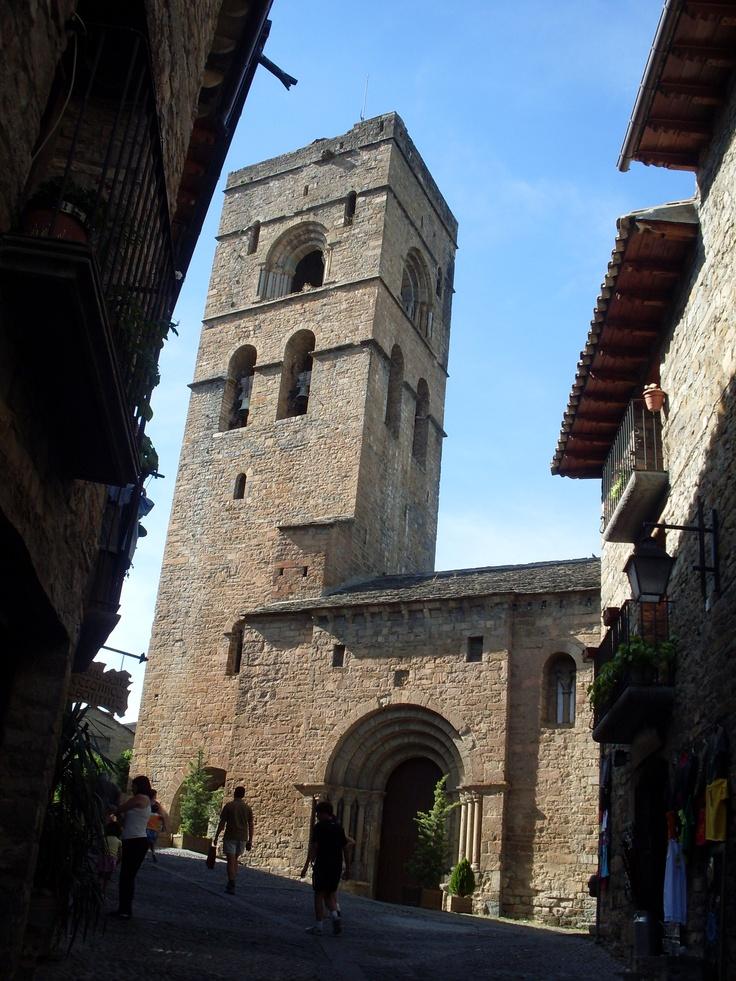 Campanario. Ainsa, Huesca