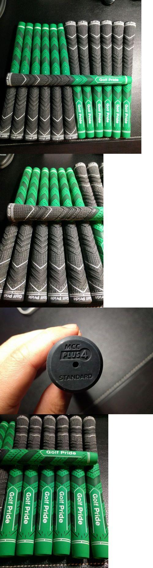 Golf Club Grips 47324: New! 13X Golf Pride Mcc Plus 4 Multicompound Green Black .600 Standard Set -> BUY IT NOW ONLY: $93.99 on eBay!