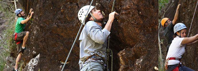 Beginners Rockclimbing