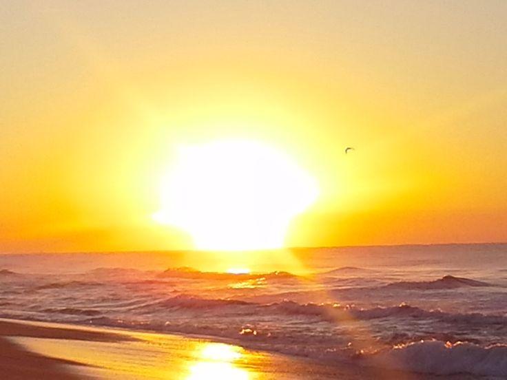 Sunrise. Lake Tyers Beach, Vic, Aus