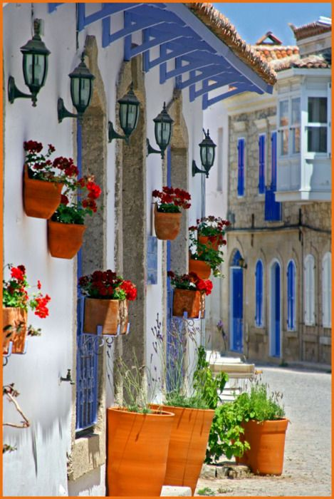 Alacati, Turkey - Traveling allows people to get away from their normal environment.