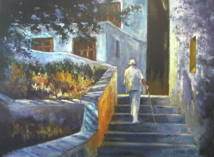 """""""A Life's Journey"""" 30"""" x 40"""""""
