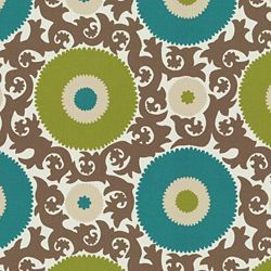Thinking of fabric to redo our dining room chairs -- this is outdoor fabric, may stand up to kid treatment.
