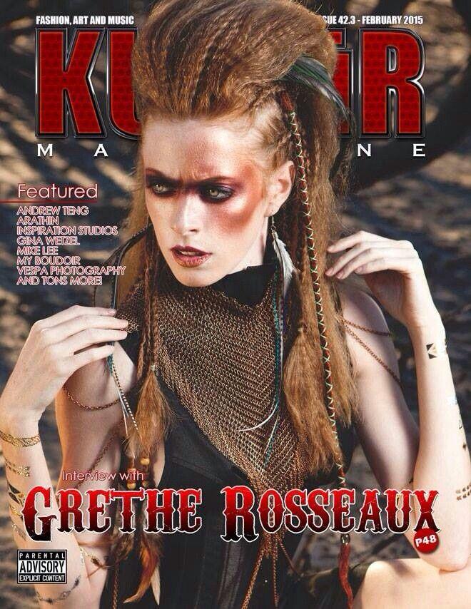 Model: Kim Rose de Vries Photographer: Grethe Rosseaux Photography MUAH: Sam Ellenberger Makeup Artistry