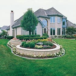 Landscaping With Bricks For Flower Beds Accent 400 x 300