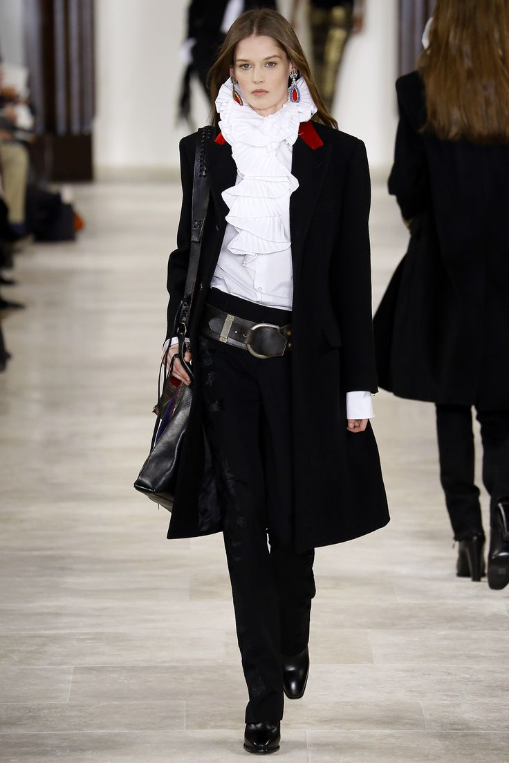 Look 34 - Ralph Lauren Fall 2016 Ready-to-Wear Fashion Show - Angel Rutledge