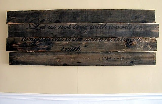 driftwood with bible verse