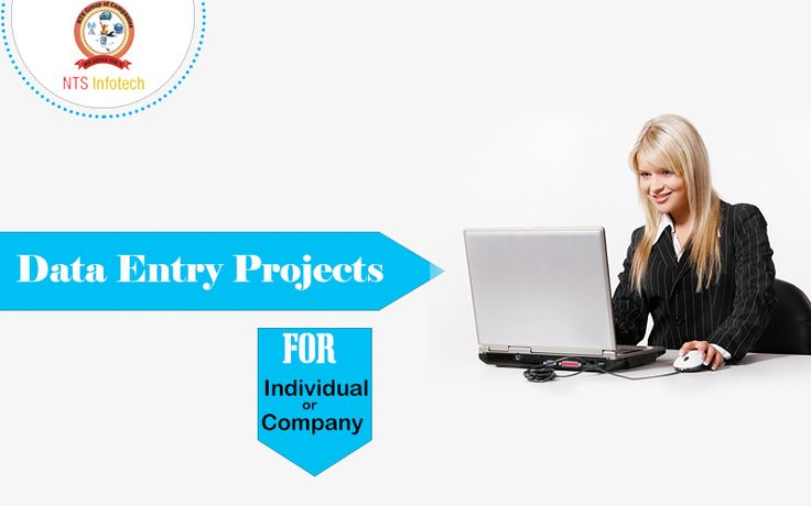 We provide Data-Entry projects to individual or company.