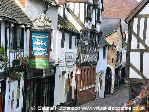 Shrewsbury town - go find the haunted pub